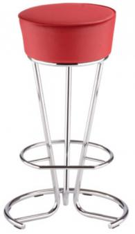 Бар стол PINACOLADA hocker chrome
